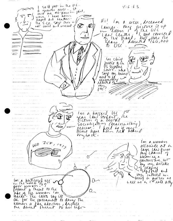 Law Student Doodles