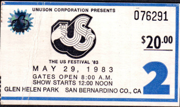 US Festival - Heavy Metal Day - May 29, 1983