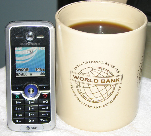 A Great Cell Phone and Coffee