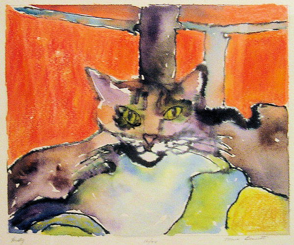 Rusty - by Maria Bennett