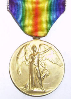 Gerald F. Pearce WWI Medal #1