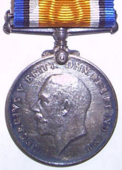 Gerald Pearce WWI Medal #2