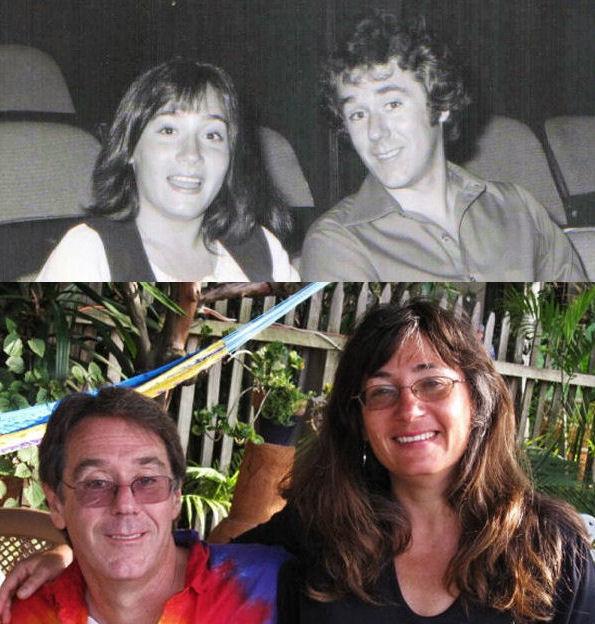 Alexis & Scott - 1978 and 2008