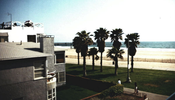 Venice Beach View from 2419 Ocean Front Walk