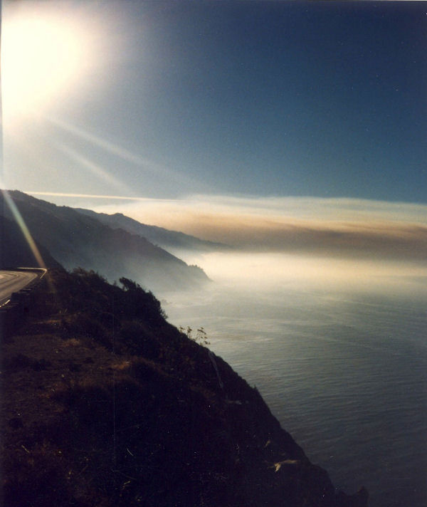 Big Sur Sunset October 1996