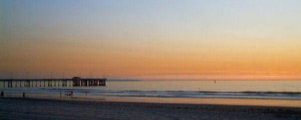 Venice Pier Sunset 2002