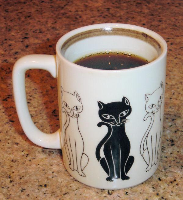 Coffee Mug with Cats