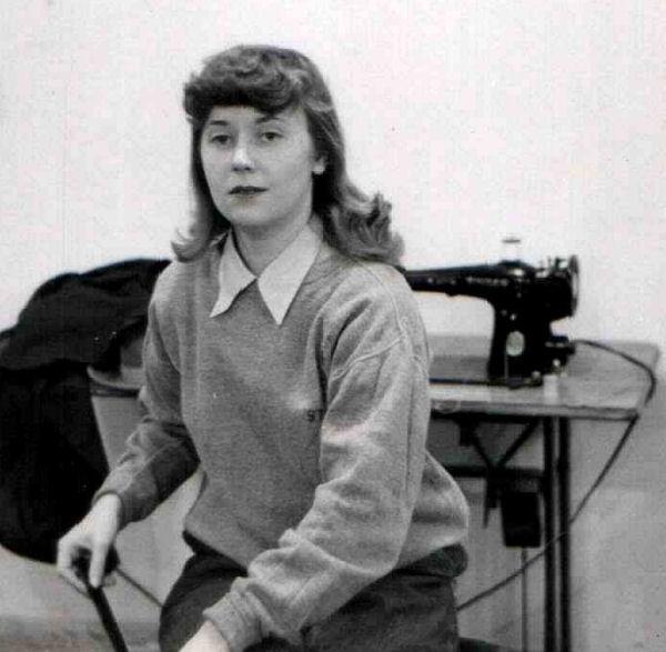 Joan Pearce - January 1950