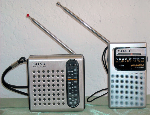 Radios Then and Now