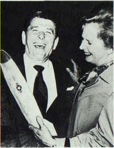 Maggie Holds Ronnie's Missile