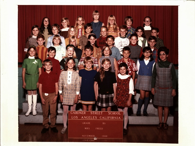 Mrs. Freed's 5th Grade Class, 1968