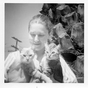 "Jo ""Red"" Pearce and Cats"